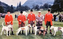 02 Huntsman At Rydal In The 1970s Left To Right Johnnie Richardson (Blencathra) Jo Weir (Ullswater) Walter Parkin (Lunesdale) Arthur Irvine (Eskdale And Ennerdale) Anthony Chapm